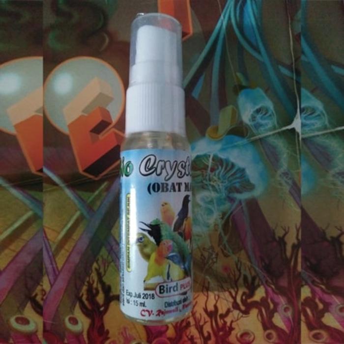 Obat Snot Ampuh Bio Crystal untuk burung lovebird